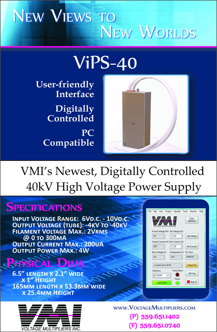 40kV High Voltage Power Supply